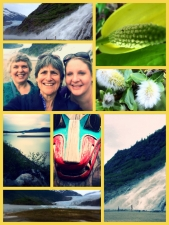 Collage w Mary Tina and Kathi